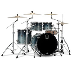"Mapex Saturn 22"" Teal Blue Fade 4 Pcs. Shell Pack « Batería"
