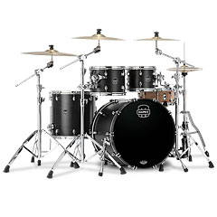 "Mapex Saturn 22"" Satin Black 4 Pcs. Shell Pack « Batería"