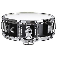 "Rogers Dyna-Sonic 14"" x 5"" Model 36 Beavertail Black Lacquer Snare « Snare drum"
