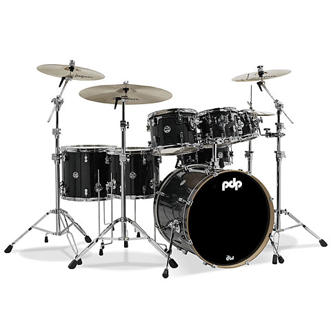 Drumstel pdp Concept Maple CM7 Ebony Stain
