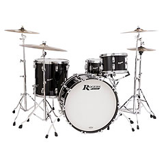 "Rogers Covington 22"" Black Lacquer Shell Pack 3-Pcs. « Drum Kit"
