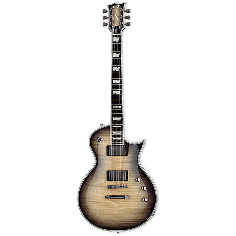 ESP E-II Eclipse FT FM Black Natural Burst « E-Gitarre