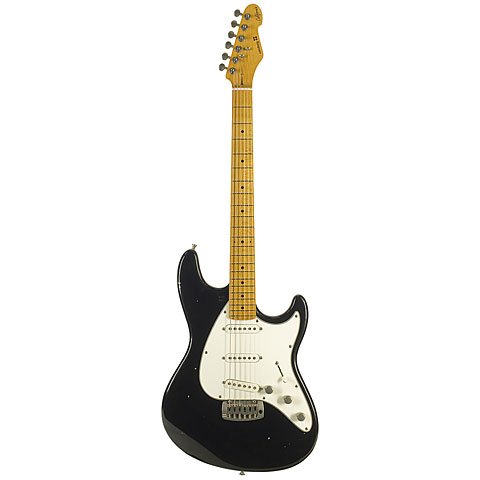 Sandberg California ST II Soft Aged BK « Guitare électrique
