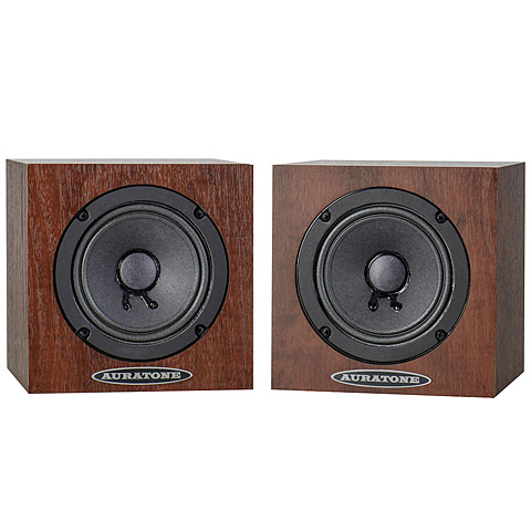 Enceintes passives Auratone 5C Super Sound Cube Wood