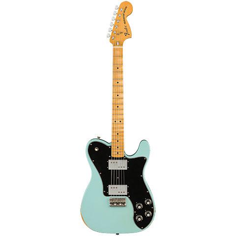 Fender Vintera Road Worn 70s Telecaster Deluxe DBL « Electric Guitar