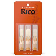 D'Addario Rico Alto Sax 2,5 3-Pack « Blätter