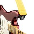 Sangle guitare/basse D'Addario Auto Lock Strap Mellow Yellow