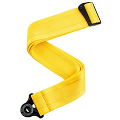 D'Addario Auto Lock Strap Mellow Yellow « Sangle guitare/basse