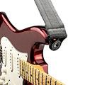 Gitarrengurt D'Addario Auto Lock Strap Metal Grey