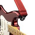 Sangle guitare/basse D'Addario Auto Lock Strap Blood Red