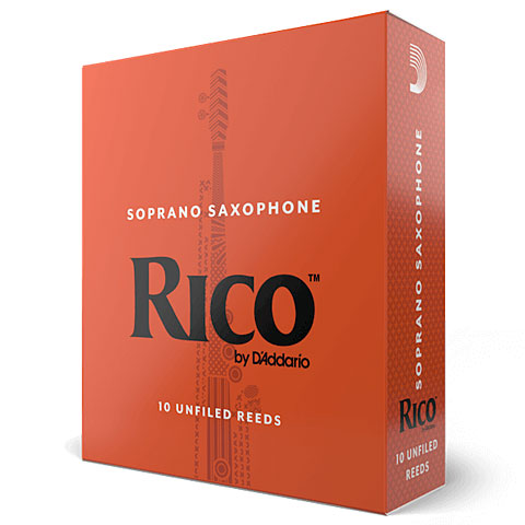 Cañas D'Addario Rico Soprano Sax 3,0