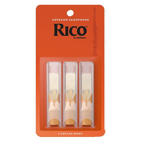 Cañas D'Addario Rico Soprano Sax 2,5 3-Pack