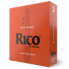 D'Addario Rico Bb-Clarinet 1,5 « Blätter