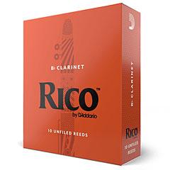 D'Addario Rico Bb-Clarinet 2,5 « Blätter