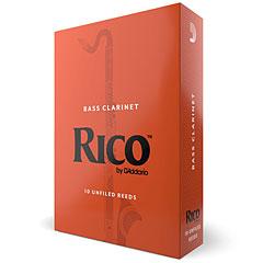 D'Addario Rico Boehm Bass Clarinet 1,5 « Blätter