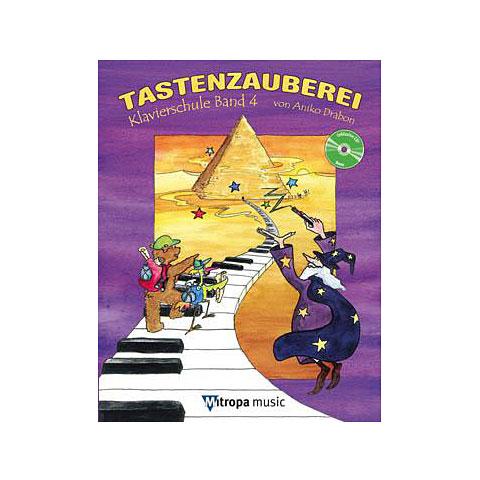 Libros didácticos Mitropa music Tastenzauberei Band 4 (+CD)