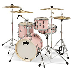 "pdp New Yorker 16"" Pale Rose Sparkle Shellset « Batterie acoustique"