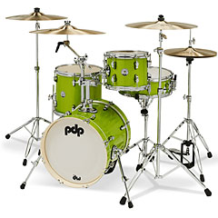 "pdp New Yorker 16"" Electric Green Sparkle Shellset « Drumstel"