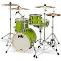 "Schlagzeug pdp New Yorker 16"" Electric Green Sparkle Shellset"