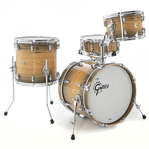 "Drumstel Gretsch Drums USA Custom 18"" River Cypress Exotic Shellset"