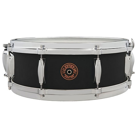 "Snare Drum Gretsch Drums G-4000 USA Custom 14"" x 5"" Black Copper Snare"