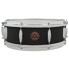 "Gretsch Drums G-4000 USA Custom 14"" x 5"" Black Copper Snare « Snare Drum"