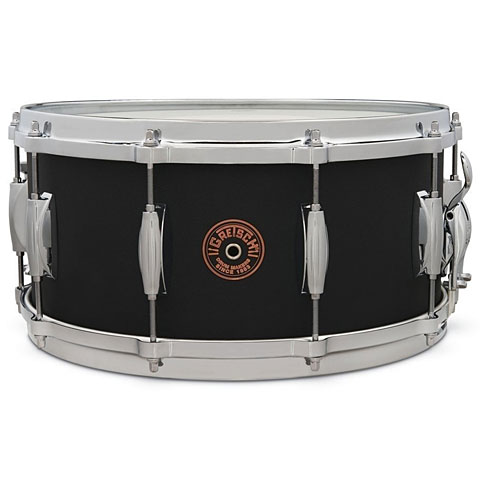 "Snare Drum Gretsch Drums G-4000 USA Custom 14"" x 6,5"" Black Copper Snare"