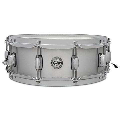 """Snare Drum Gretsch Drums Full Range 14"""" x 5"""" Grand Prix Aluminium Snare"""