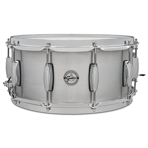"""Snare Drum Gretsch Drums Full Range 14"""" x 6,5"""" Grand Prix Aluminium Snare"""