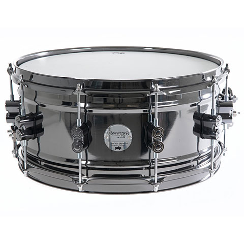 """Snare Drum pdp Concept 14"""" x 6,5"""" Black Nickel Over Brass Snare"""