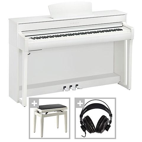 Digitalpiano Yamaha Clavinova CLP-735 WH Set