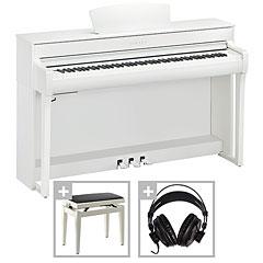 Yamaha Clavinova CLP-735 WH Set « Piano digital