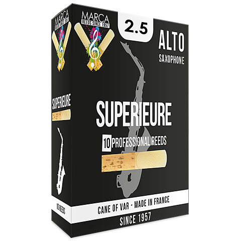 Cañas Marca Superieure Alto Sax 2.5