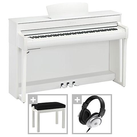 Digitalpiano Yamaha Clavinova CLP-735 WH Premium Set