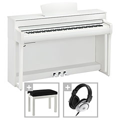Yamaha Clavinova CLP-735 WH Premium Set « Piano digital