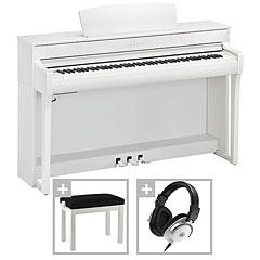 Yamaha Clavinova CLP-745 WH Premium Set « Piano digital