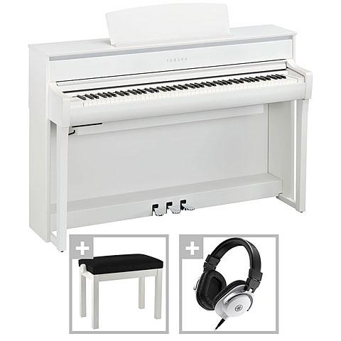 Digitalpiano Yamaha Clavinova CLP-775 WH Premium Set