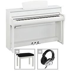 Yamaha Clavinova CLP-775 WH Premium Set « Piano digital