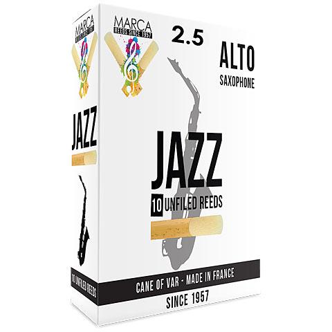 Cañas Marca Jazz Unfiled Alto Sax 2.5