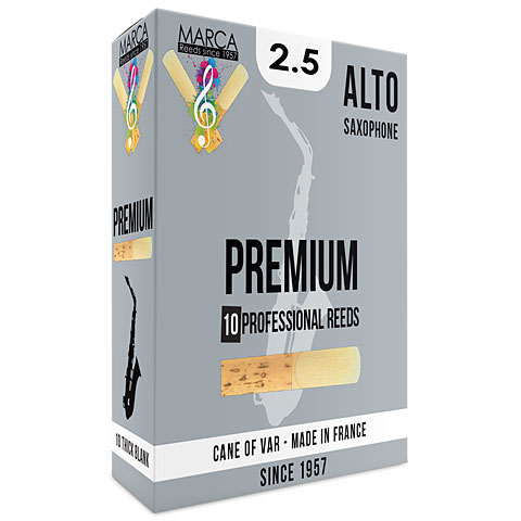 Blätter Marca Premium Alto Sax 2.5