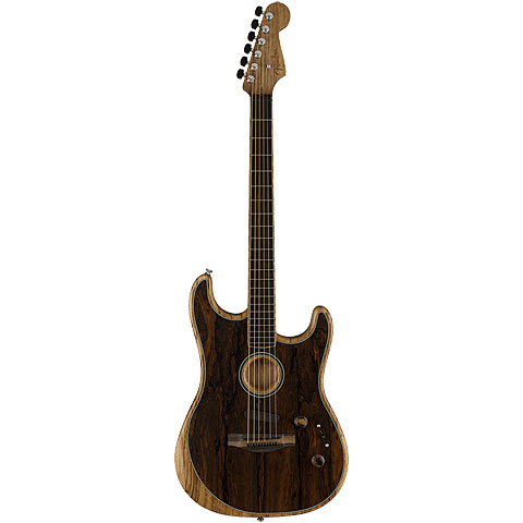 Fender Acoustasonic Strat Ziricote Special Edition « E-Gitarre