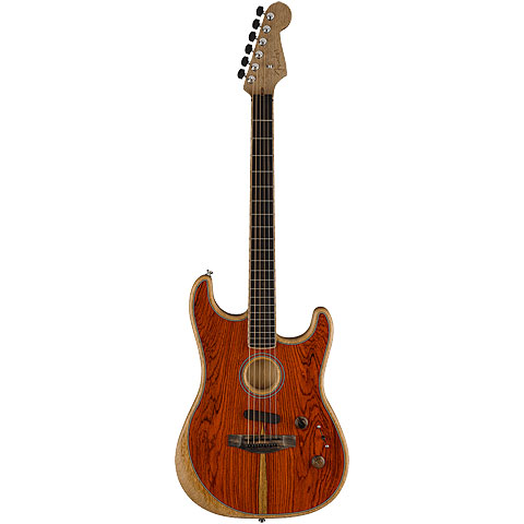 Fender Acoustasonic Strat Cocobolo Special Edition « Electric Guitar