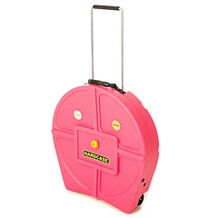 "Hardcase Colored Padded 22"" Pink Cymbal Trolley « Cymbalcase"