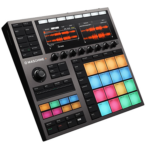 Controlador MIDI Native Instruments Maschine+