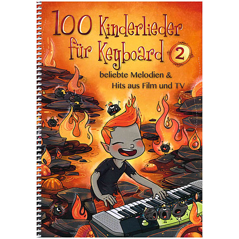 Notenbuch Bosworth 100 Kinderlieder für Keyboard 2