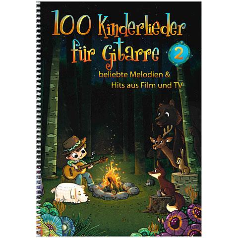 Libro de partituras Bosworth 100 Kinderlieder für Gitarre 2