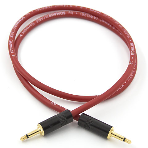 Patch Cable Karl's Synth-Wire 60 cm red