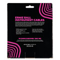 Cable instrumentos Ernie Ball EB6044 Spiralkabel black, 9,14m