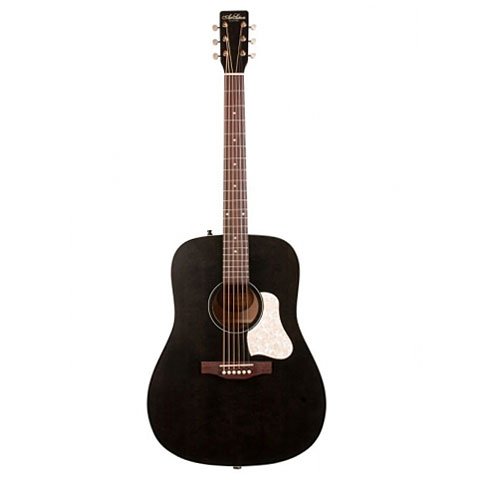 Acoustic Guitar Art & Lutherie Americana Faded Black
