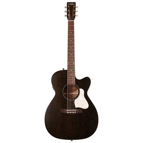 Westerngitarre Art & Lutherie Legacy Faded Black CW QIT